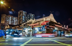 The Yau Ma Tei Wholesale Fruit Market is near where The Layover was filmed, and it_s a piece of breathing Hong Kong heritage